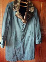 Меховое-пальто бушлат (натуральный мех) СССР