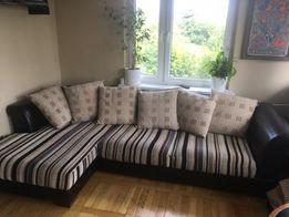 *Rezerwacja*Kanapa, sofa rozkładana, narożnik skóra naturalna.*5900zl