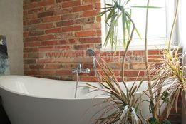Sciana z cegły - płytki dekoracyjne, stara cegła