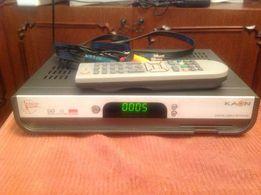 Продам тюнер КАОN. Digital cable receiver в отл состоянии с пультом