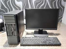 Acer Desktop PC with 19-inch LG LCD Widescreen Monitor, Wifi, Keyboard