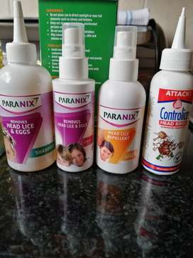 Free : Paranix and controlice hair lice removal products