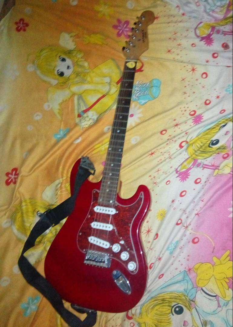 Clean Electronic Lead guitar 0