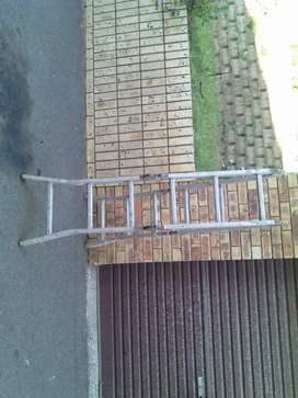 A FRAME STAINLESS STEEL LADDER