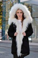 Зимняя женская куртка парка на меху (лама) Arvisa TM