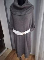 Kardigan, sweter długi H&M