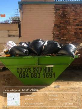 Coco's skip hire and rubble removal