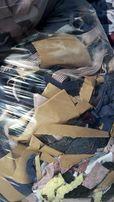 Ścinki materiałowe - resztki poprodukcyjne, materiały