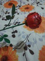 Роза металлическая ручная работа Оригинальный подарок призент