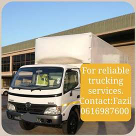 Four Ton Truck For Hire