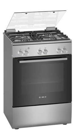Bosch 4 Burner Gas and Electricity Stove with Oven