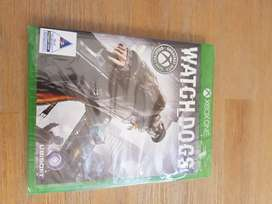 Watchdogs Xbox One S game new and sealed