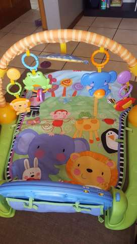 Fischer Price Baby Gym and Piano