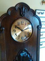 stary zegar stojący Gustav Becker gong 7 strun