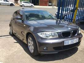 2007 BMW 1series 118i with spare key n service book available