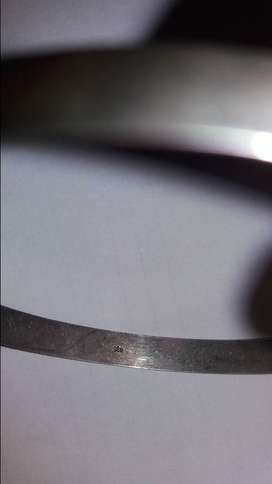 STERLING SILVER 925 6mm BANGLE