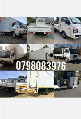 TRUCKS AND BAKKIES FOR HIRE TRANSPORT