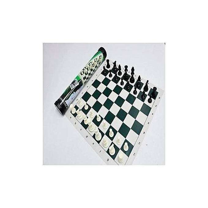 Generic Chess Set + Mobile Carrier 0