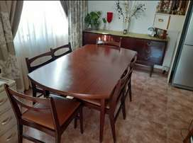 Dining Room Table and chairs with Server