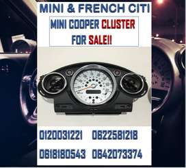 MINI COOPER CLUSTER FOR SALE