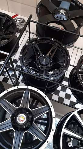 Tyres with rims mags 4x4 trailers too