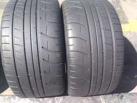Two seconds hand tyres sizes 295/30/20 Duolp normal now available