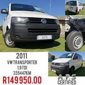2011 VW TRANSPORTER 1.9TDI