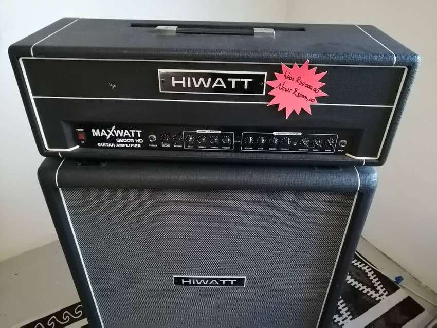 Hiwatt G200R HD Handmade Amplifier 0