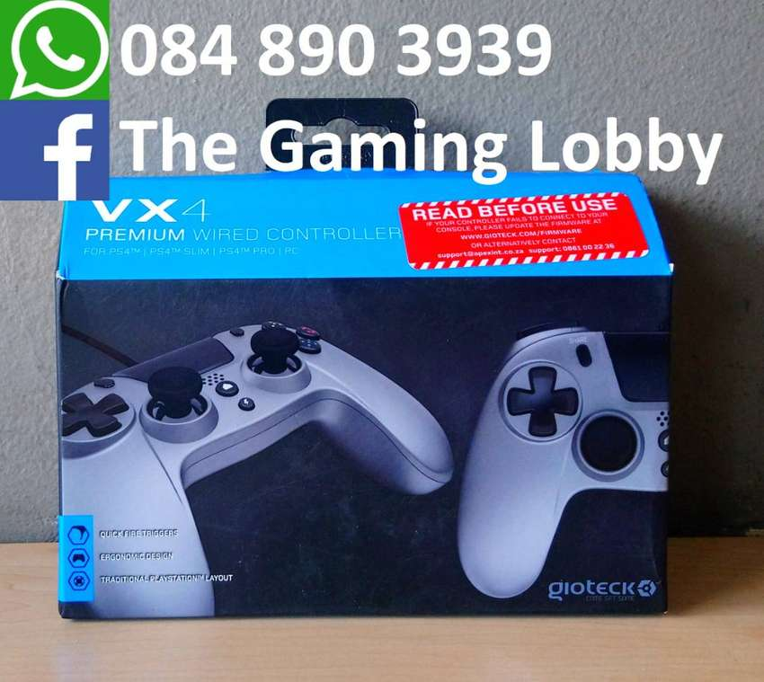 Gioteck VX4 Wired Controller