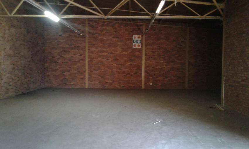 storage to let in central pietermaritzburg for warehouse purpose only 0