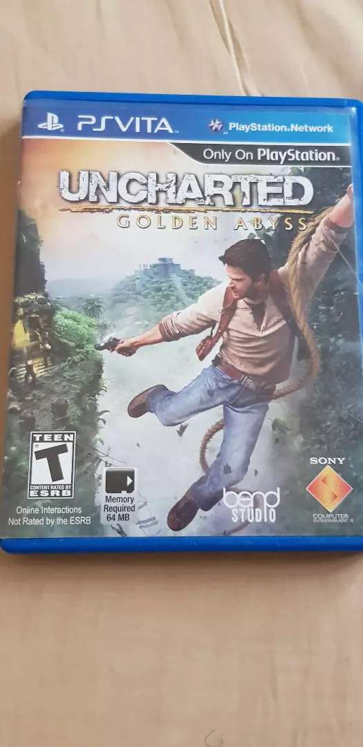 PS VITA UNCHARTED GOLDEN ABYSS 0