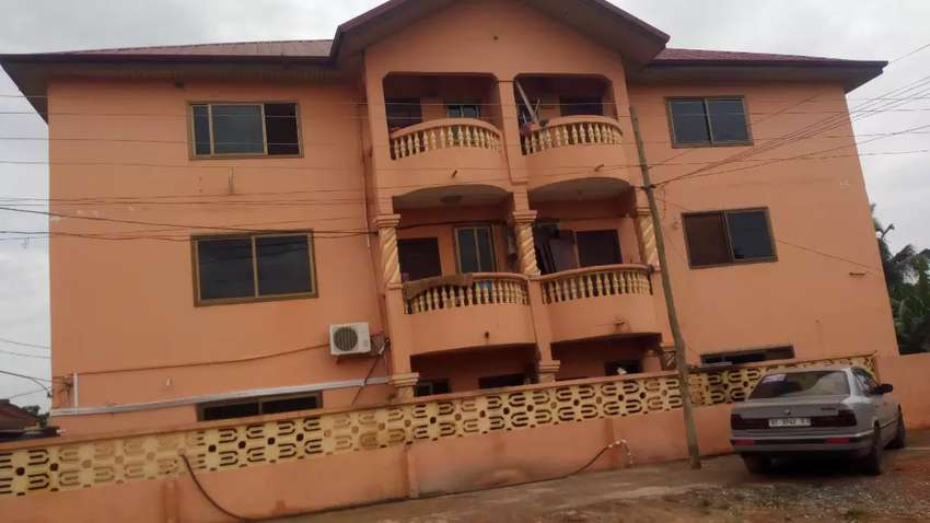 Two bedrooms flat for rent at Taifa one year advance 0