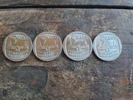 Presidential Inauguration 1994 coins