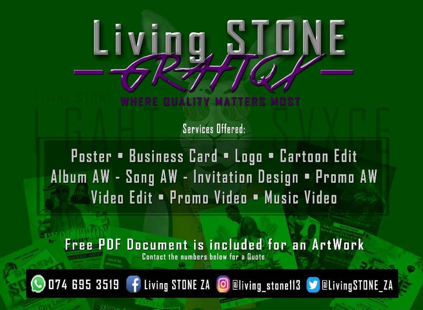 Posters,business cards, logos, etc. 0