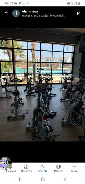 The blyde Baldwin Book now R1200  With free gym Sea side Restaurant