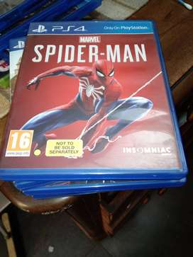 Marvel's Spiderman Playstation 4 physical copy