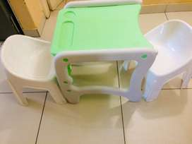 Toddlers table and chairs