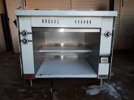3 plate valcan industrial stove