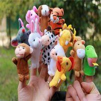 Пальчиковый кукольный театр (12 животных)
