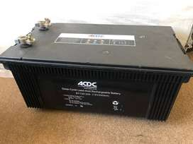 Solar Batteries ACDC 200ah used