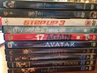 Image of DVD's for sale (R200 for all 10)