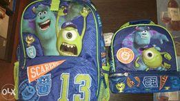 Дисней Disney рюкзак Монстры с термо-сумкой..