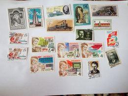 почтовые марки коллекция филателия большой выбор