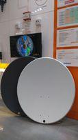 Antena satelitarna czasza 80 cm Corab biała i grafitowa