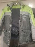 куртка зимняя. брюки на флисовой подкладке состояние отличное