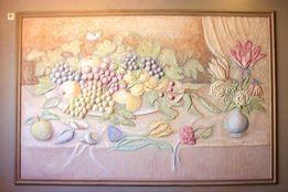 художественная роспись стен барельеф