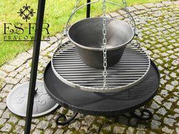 Zestaw grill, palenisko i kociołek 10,5l żeliwny Piotr 50/60 ES-ER