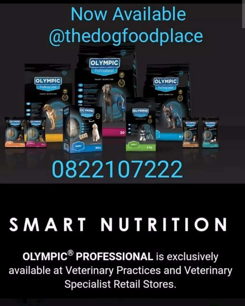 Selling olympic proffessional dog food