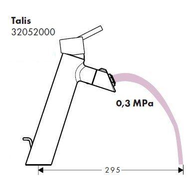 Bateria umywalkowa Talis 150 Kutno - image 4