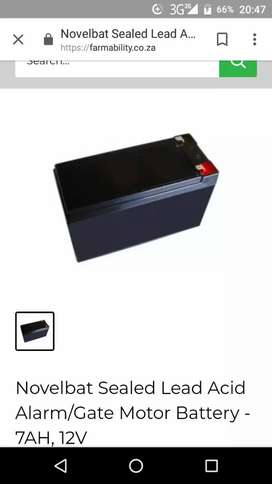 New Electric Gate battery for sale